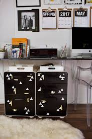 Cute Filing Cabinet Metal File Cabinet Makeover A Beautiful Mess