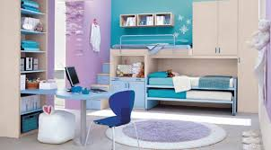 home office colorful girl. colorful home office decoration for woman with blue design interior around table and chair all also grey rug girl