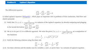 laplaces equation the diffeial equation a as aºs a x2 a y2