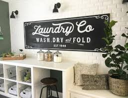 Picturesque Vintage Inspired Chalkboard Laundry Sign Vintage Laundry Room  Decor Ideas And Plus Designs in Laundry