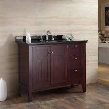 Shop OVE Decors Gavin Tobacco Undermount Single Sink Bathroom ...