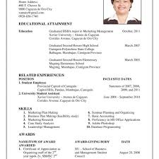 How Make A Resume For A First Job How To Make A Resume For First Job Template first job sample resume 27