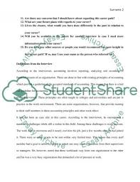 finance interview essay example topics and well written essays finance interview essay example