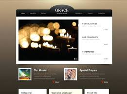Modern Website Templates Adorable Rock Harbor Church Theme Modern Website Template Best Themes