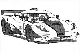 Rc Car Coloring Pages Koenigsegg Agera R Drawing Car Coloring Pages