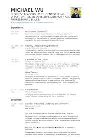 Publications Coordinator Resume samples