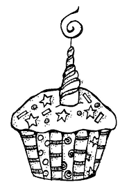 birthday cupcake clip art black and white. Brilliant Black Birthday Cupcake Black And White Clipart 1 In Clip Art D
