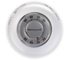 classic round non programmable thermostat honeywell round® non programmable thermostat ct87