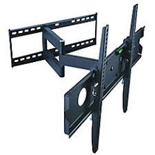 Tv wall mouns Full Motion Full Motion Wall Mount For 32inch To 63inch Tv Tv Wall Mounts The Home Depot Canada