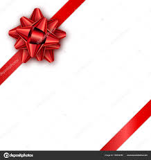 Holiday Gift Card Template Holiday Gift Card With Red Ribbon And Bow Template For A Busine