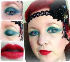 20s inspired makeup look be a flapper