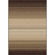 orian rugs waving chevron taupe indoor novelty area rug common 5 x 8