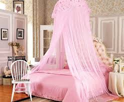 Luxury Disney Princess Canopy Bed Set With Drapes   NYTexas