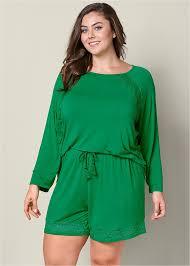 plus size short sets plus size pajamas venus