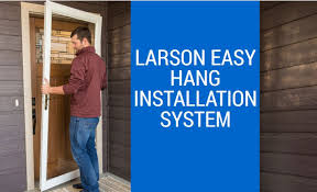 How-to Install a LARSON Storm Door - YouTube