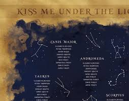 Wedding Seating Chart Constellation Seating By