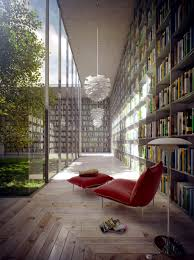 General: Library Modern - Library Design Inspiration