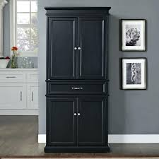 tall black storage cabinet. Black Kitchen Storage Cabinet Tall Wood Walker Edison 58 Tv With Mount Storag .