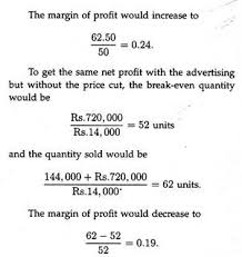 Break Even Analysis With Diagram