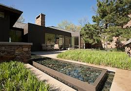 Small Picture Backyard Amazing Water Feature Modern Garden Pond Design In
