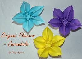 Paper Origami Flower Making Origami Best Origami Flowers Tutorial Ideas Only On Paper Making