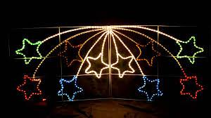 Outdoor Lighting Christmas Stars Home Garden 140 Lights Shooting Star Christmas Lighted