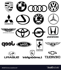 lamborghini logo black and white. Fine And Lamborghini Logo Vector Black White Car Logos Vector Intended And