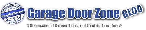 garage door zone