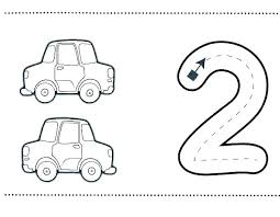 number 2 coloring sheets for toddlers page printable pag