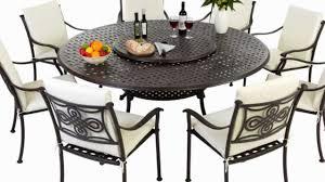 garden furniture seater round table