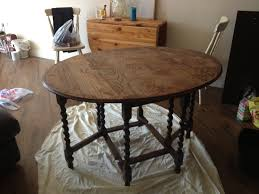 Stripping Dining Room Table How To Upcycle A Dining Table The Chic Boutique