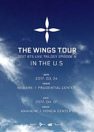 Bts Wings Tour Seating Chart Newark Bts The Wings Tour 2017 Nyc Crystal Clouds