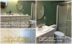 Bathroom Remodeling Portland Oregon Best The Fabulous Tiny Master Bathroom Remodel Step One The Paint Factory