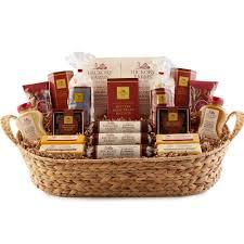 hickory farms grand hickory holiday gift basket