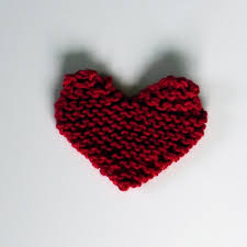 Knitted Heart Pattern Unique Knit A Quick Heart LoveKnitting Blog