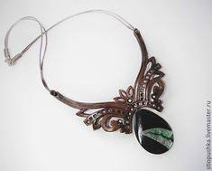 <b>Кулоны</b>, подвески ручной работы. украшение из кожи <b>кулон</b> с ...