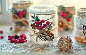 Decorating Ideas For Glass Jars Glass Jar Christmas Crafts 100 Homemade Inspirations 4