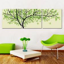 shipping modern wall oil painting living room decor green money tree wall art picture paint on on mint green canvas wall art with wall art best collection mint green canvas wall art easy green box