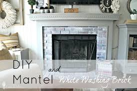 white fireplace mantel shelf uk photos on brick