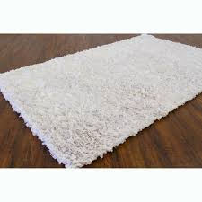 white shag rug. Hand-woven Safir White Shag Rug (3\u0026#x27; W