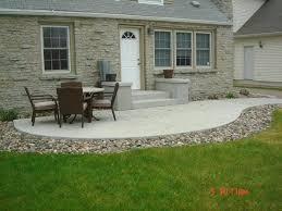 concrete slab patio makeover.  Makeover Concrete Slab Patio Brilliant Cement Ideas About  Patios On Stamped   With Concrete Slab Patio Makeover