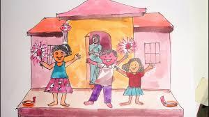 How To Make A Diwali Scene 2018