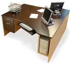 double office desk. wedge desk double office k