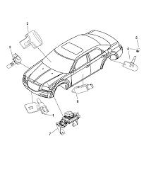 2009 chrysler 300 sensors body diagram i2223052