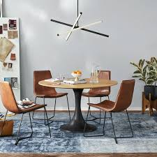 Industrial Round Dining Table West Elm
