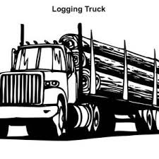 logging coloring pages semi truck logging truck in semi truck coloring page logging truck