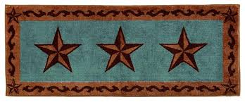 texas star area rugs lone turquoise rug rustic