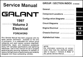 1997 mitsubishi galant repair shop manual set original covers all 1997 mitsubishi galant models including de es ls and sedan these books measure 8 5 x 11 and are 1 63 thick together