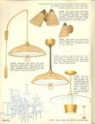 Vintage Mid Century Light Fixtures Vintage Virden Lighting 52 Page Catalog From 1959 Mid