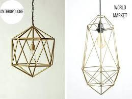 anthropologie chandelier